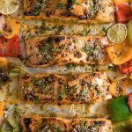 Easy Sheet Pan Chili Lime and Orange Salmon