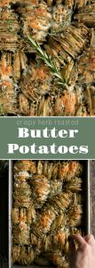 Crispy Herb Roasted Butter Potatoes