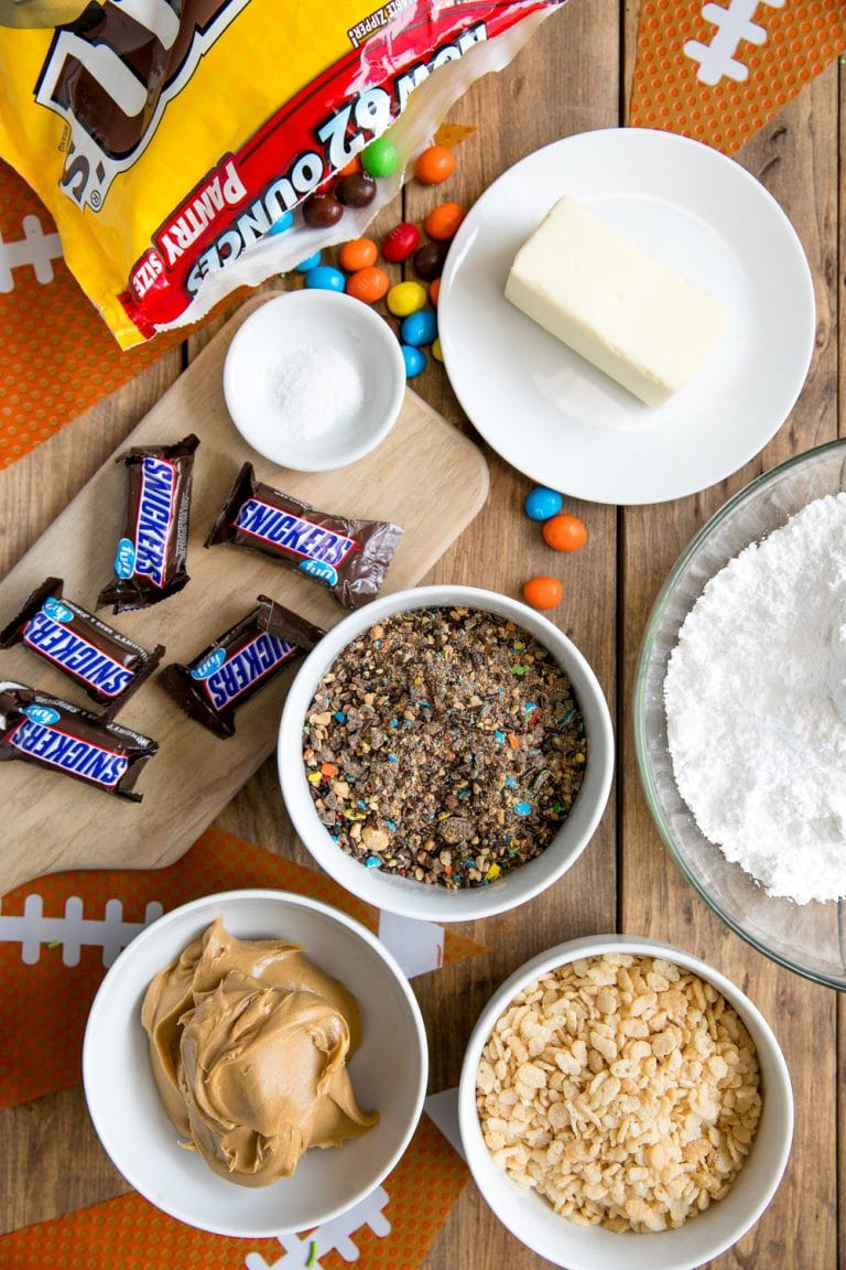 M&M's Candy Truffles- Peanut Butter, Snickers, and M&M's Candy Truffles (+Video)