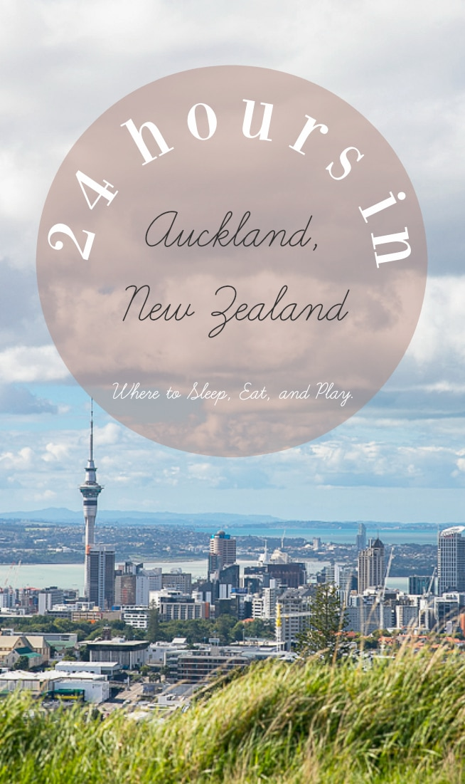 24 Hours in Auckland, New Zealand. Where to sleep and what to do when you only have 24 hours in New Zealand's most populated city via @theforkedspoon #travel #newzealand #auckland #travelguide #hotels