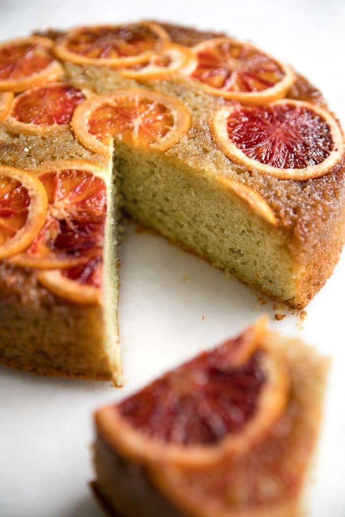 Blood Orange Upside Down Cake