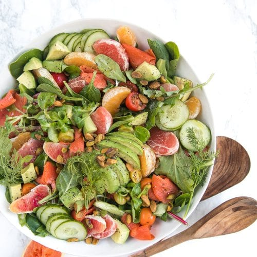 Citrus Salmon Salad