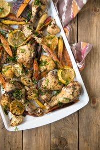Easy Sheet Pan Sumac Chicken