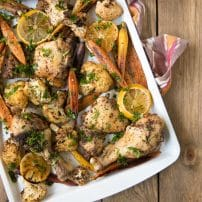 Easy Sheet Pan Sumac Chicken