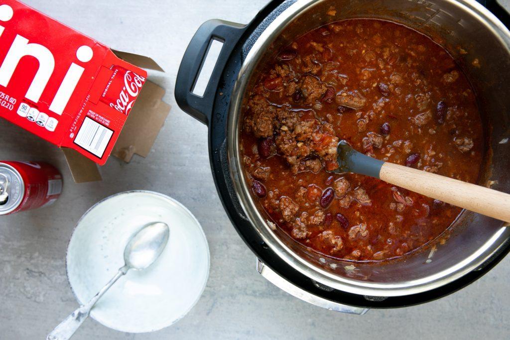Coca-Cola chili instant pot