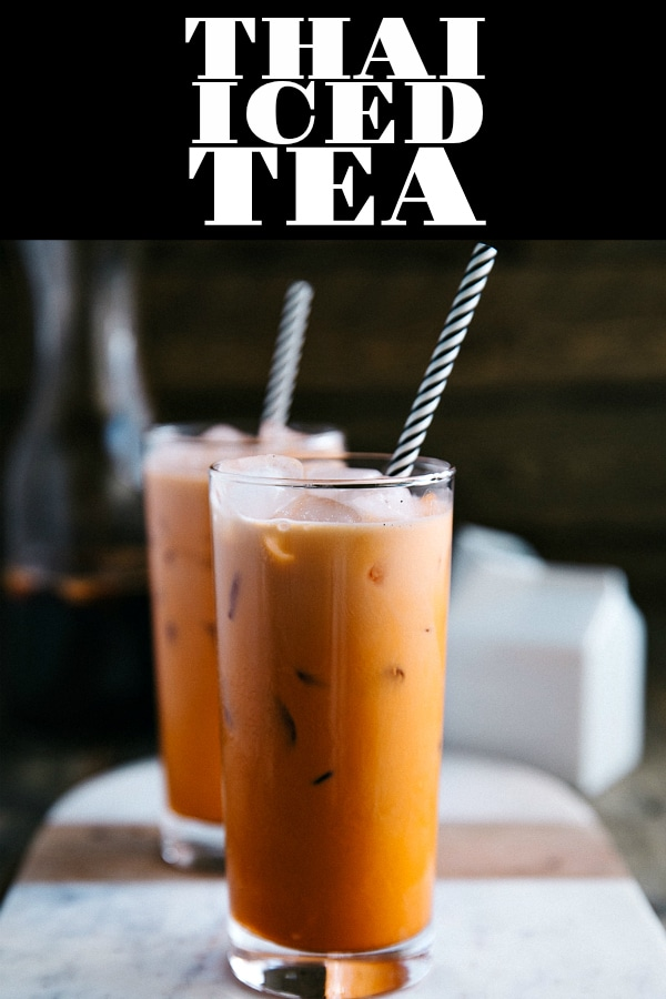 Thai Iced Tea is a delicious and refreshing Thai drink made from tea, milk, and sugar. Popular in Southeast Asia and served in many Thai food restaurants, learning HOW TO MAKE THAI ICED TEA is easy and effortless, requiring just a handful of simple ingredients #icedtea #thaicedtea #summerdrinkideas | For this recipe and more visit, https://www.theforkedspoon.com