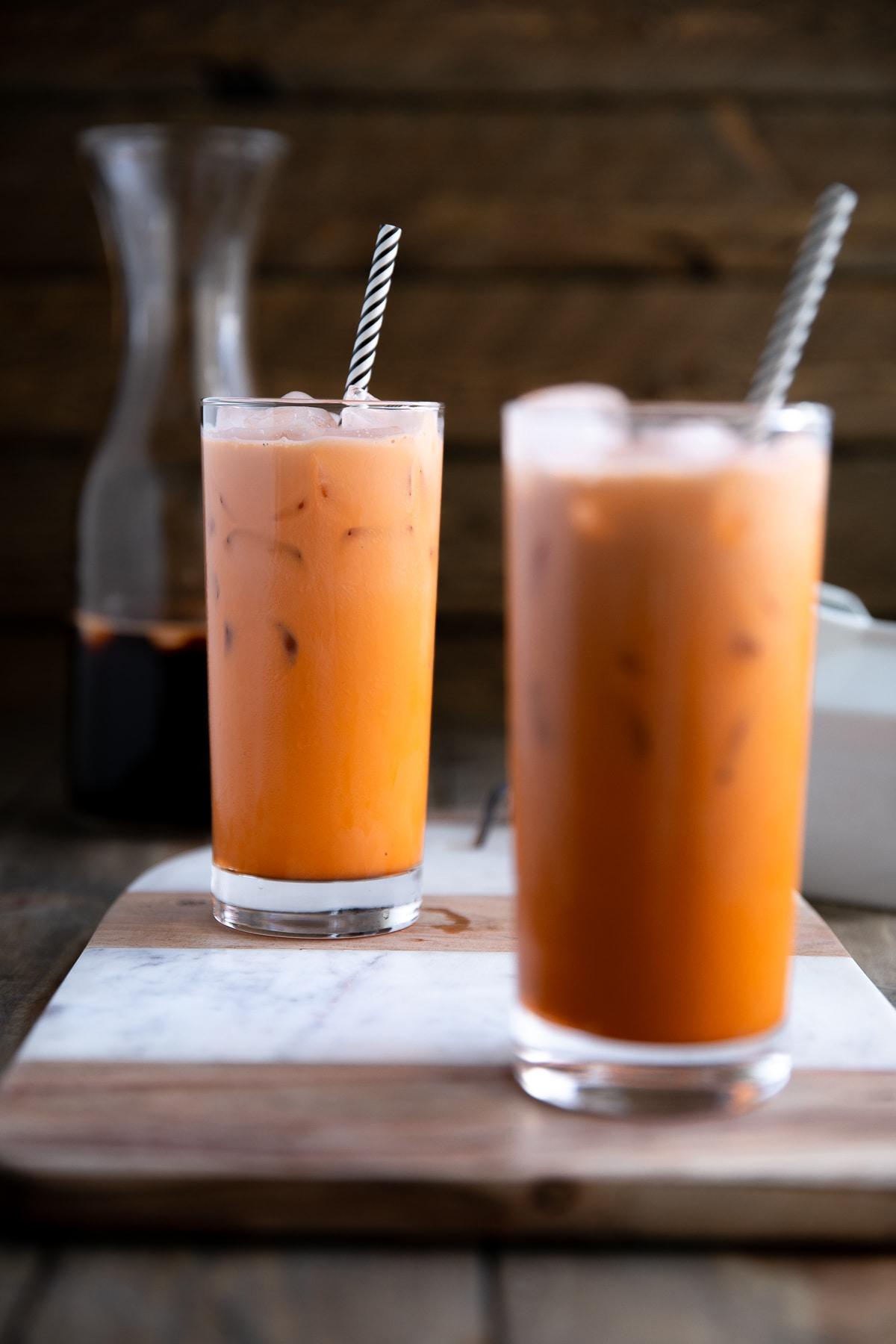 à couper le Souffle  Mot-Clé Thai Tea Recipe   How to Make Thai Tea