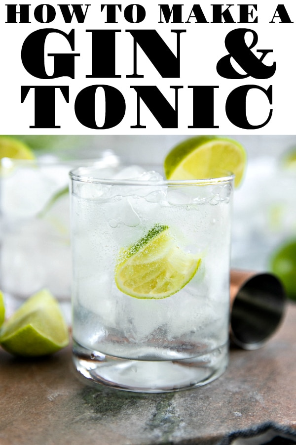 How to make a (better) Gin and Tonic #gin #tonic #ginandtonic #ginandtonicrecipe #cocktailrecipe #easyrecipe #summerrecipe | For this recipe and more visit, https://theforkedspoon.com