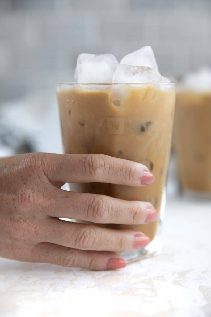 mixed irish iced coffee