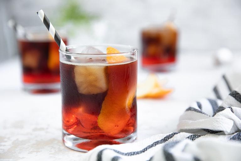 iced espresso negroni