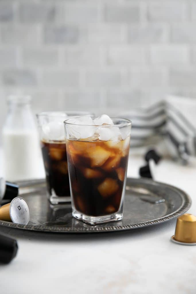 espresso with whisky