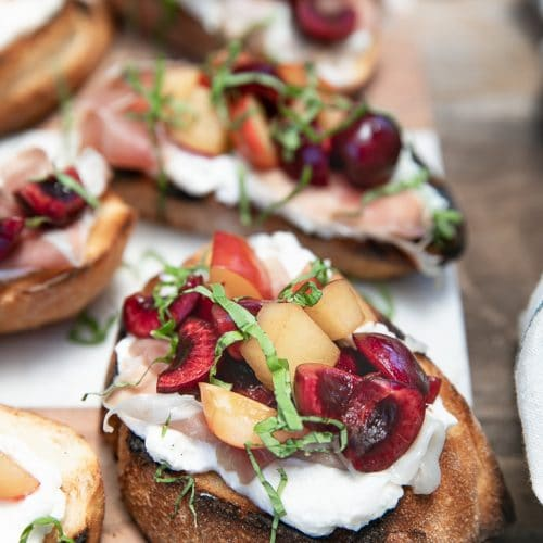 Cherry Bruschetta Recipe