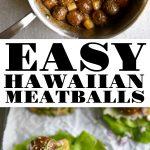 hawaiian meatballs long pin