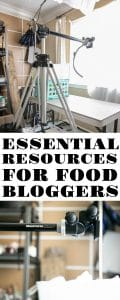 ESSENTIAL RESOURCES FOR FOOD BLOGGERS