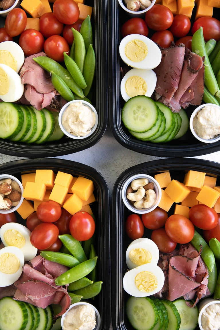 Protein Snack Pack - Lunch Meal Prep