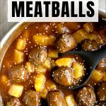 hawaiian meatballs short pin