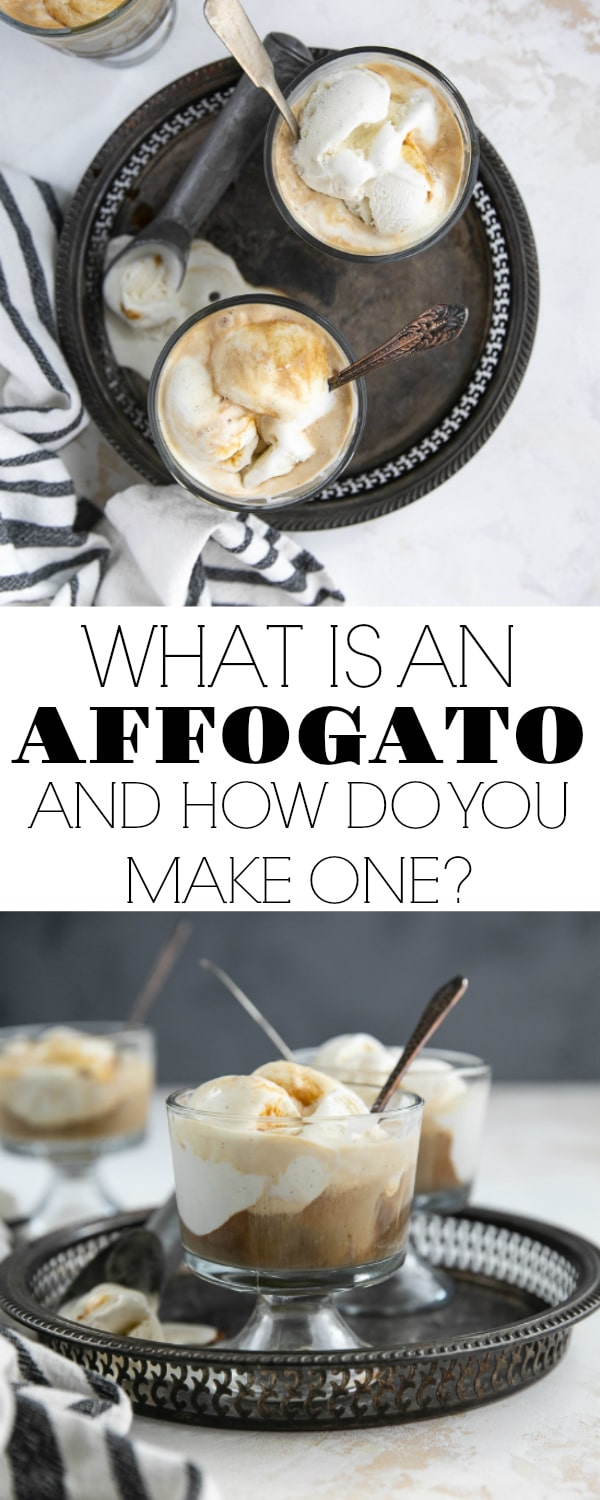 The Affogato is a classic Italian dessert consisting of sweet vanilla ice cream topped, or \