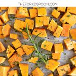 How to Roast a Butternut Squash Pinterest Collage Image