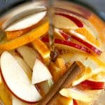 apple cider sangria Pinterest Pin Image Collage