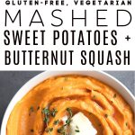 Healthy Mashed Sweet Potatoes Recipe Pinterest PIN Collage