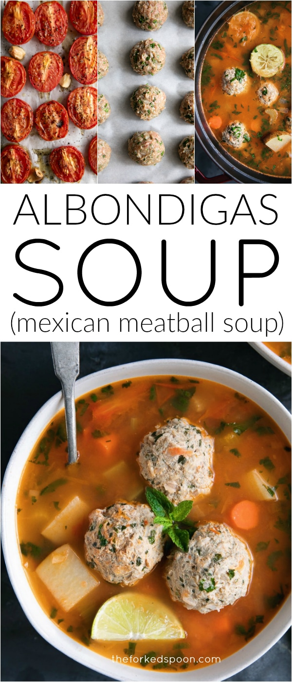 albondigas soup long pin