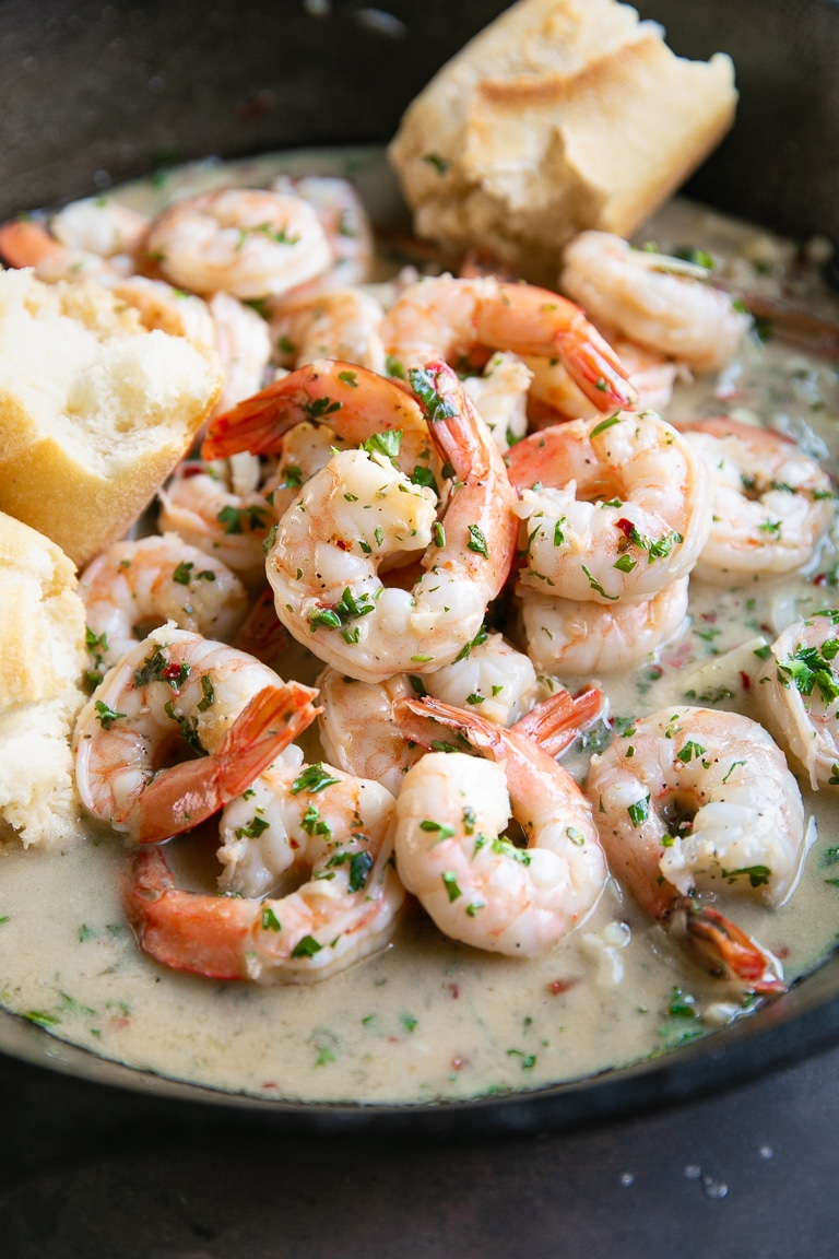 Easy Shrimp Scampi Recipe The Forked Spoon