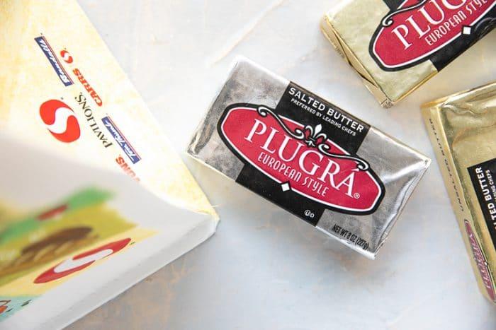Plugra butter.