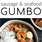 how to make gumbo pinterest long pin collage