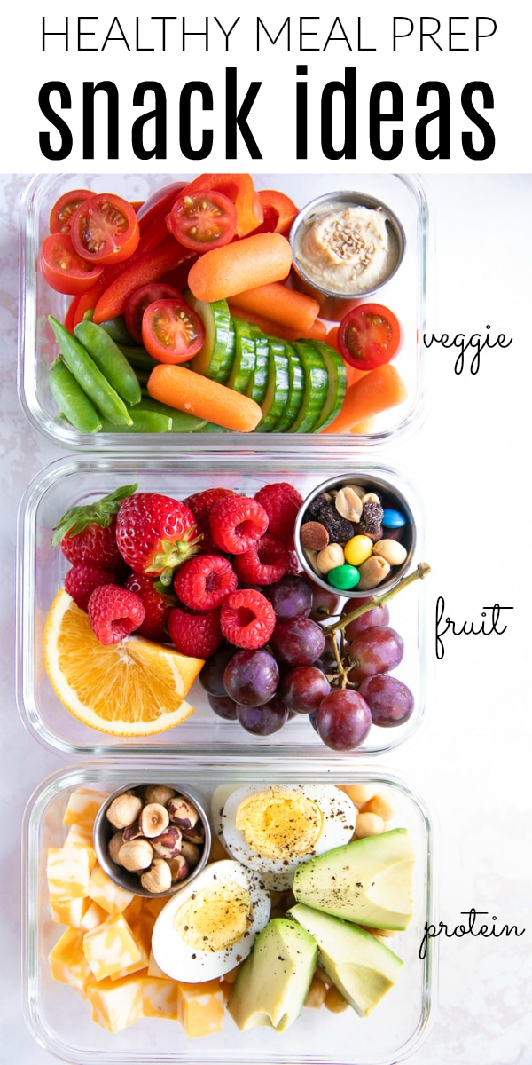 Healthy On-the-Go Meal Prep Snack Ideas #sponsored @FosterFarms #BeBoldAnywhere #mealprep #healthysnacks #chicken #snackideasforkids #proteinsnacks #lowcarb   For this recipe and more visit, https://theforkedspoon.com/meal-prep-snack-ideas