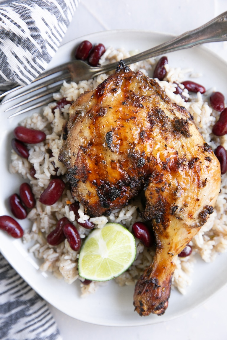 Jamaican Jerk Chicken Recipe The Forked Spoon