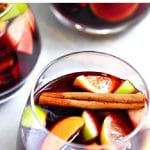 Easy Sangria Recipe - How to Make Red Sangria Pinterest Pin Image