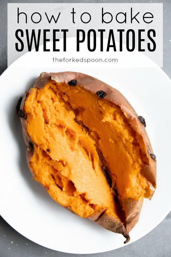 how to bake sweet potatoes short pin
