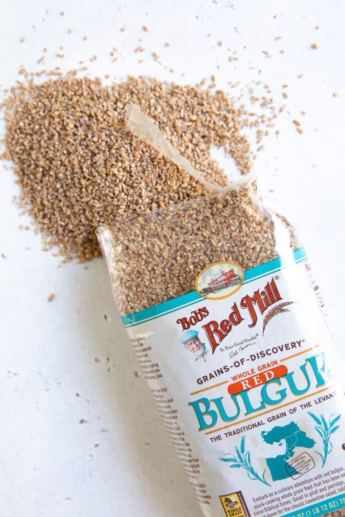 Bob's Red Mill uncooked bulgur