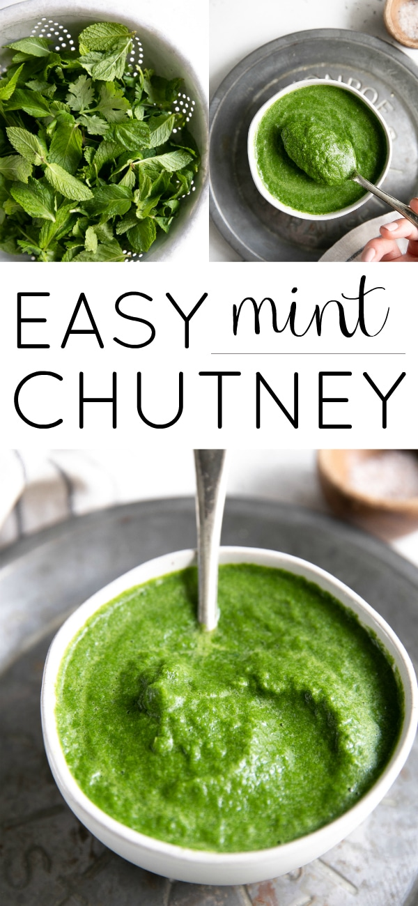Mint Chutney Recipe (Pudina Chutney) #mintchutney #mint #chutney #pudinachutney #glutenfree #sugarfree #vegan