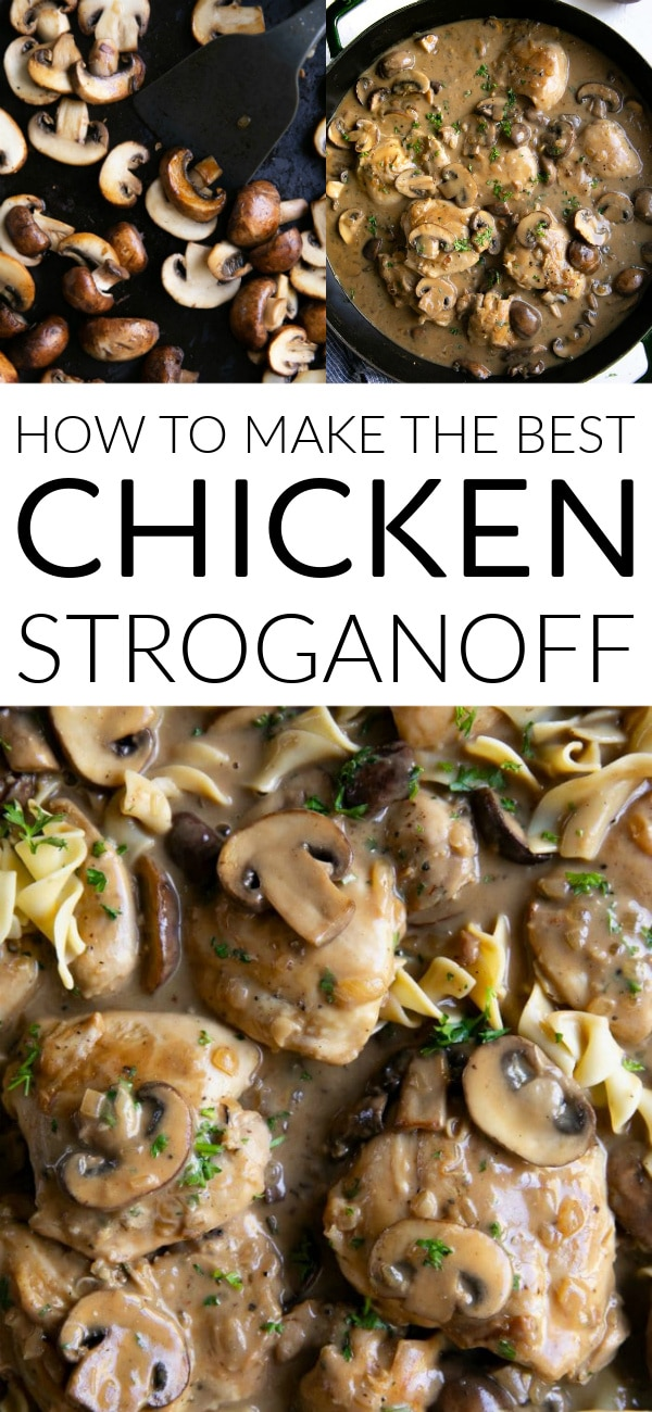 chicken stroganoff long pin