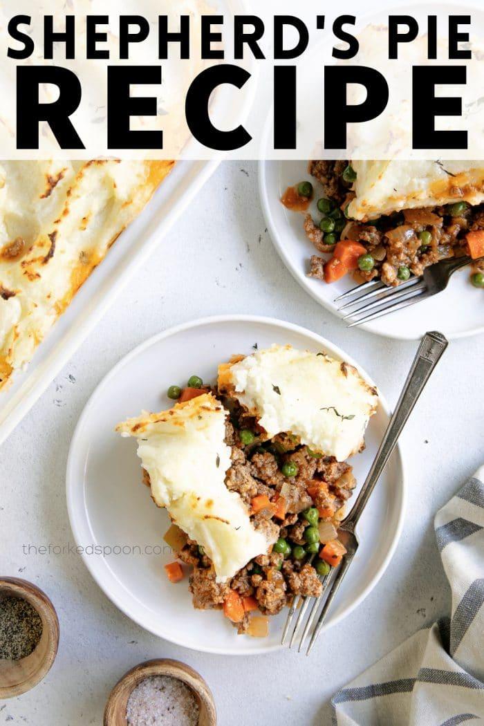 Shepherd's Pie Recipe pinterest pin collage
