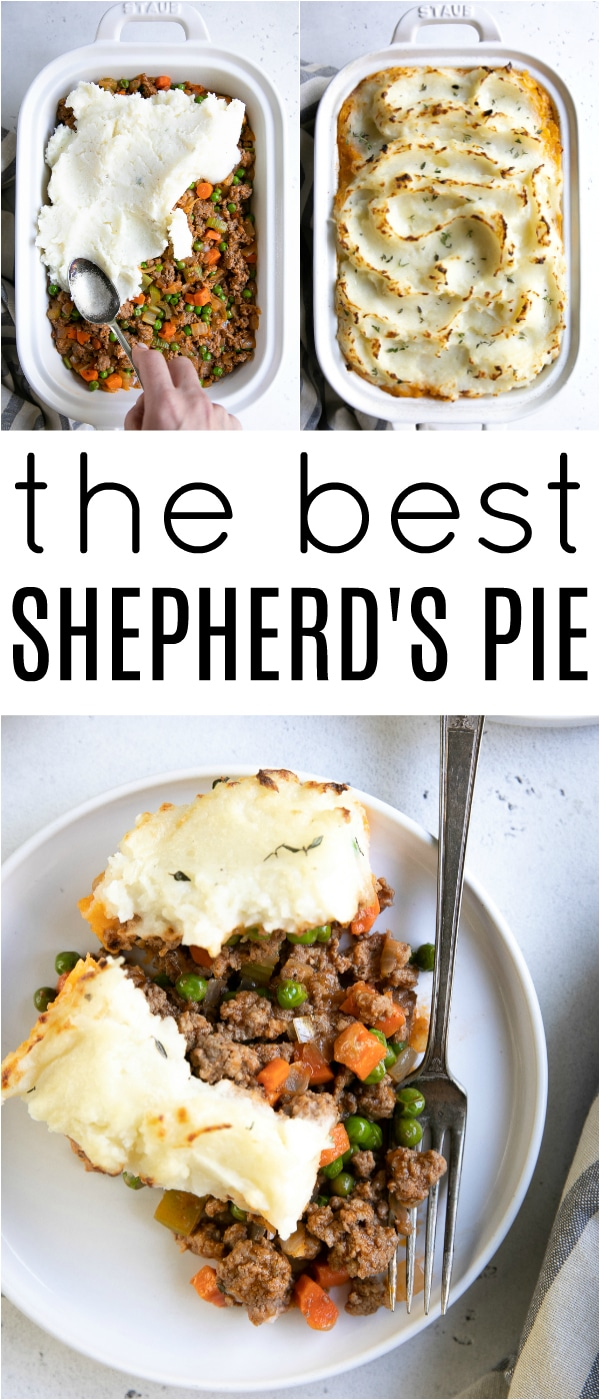 Shepherd\'s Pie Recipe (How to Make Shepherd\'s Pie) #lamb #shepherdspie #cottagepie #easydinner #comfortfood #groundbeef