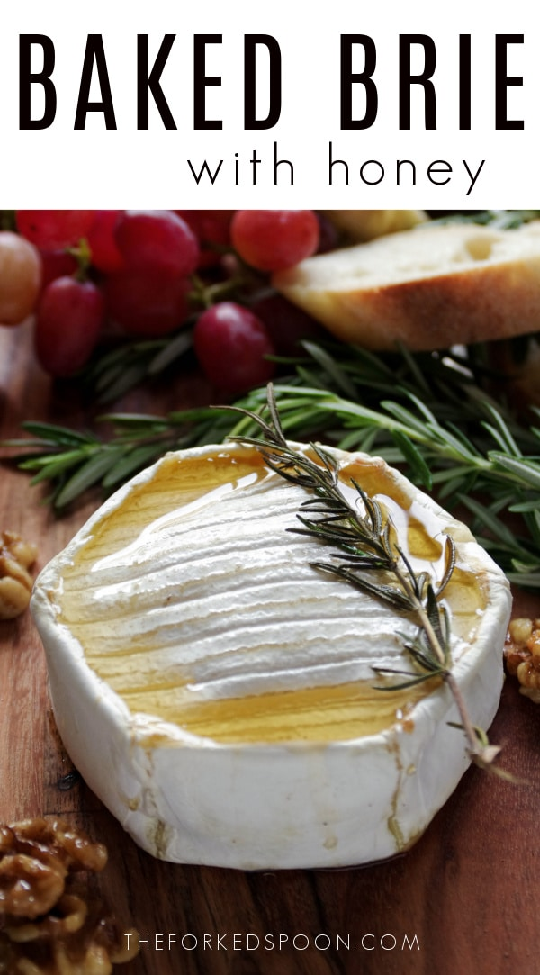 baked brie Pinterest PIN Collage