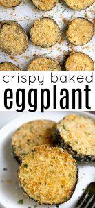 Baked Eggplant Recipe Pin