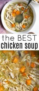 chicken soup pinterest pin