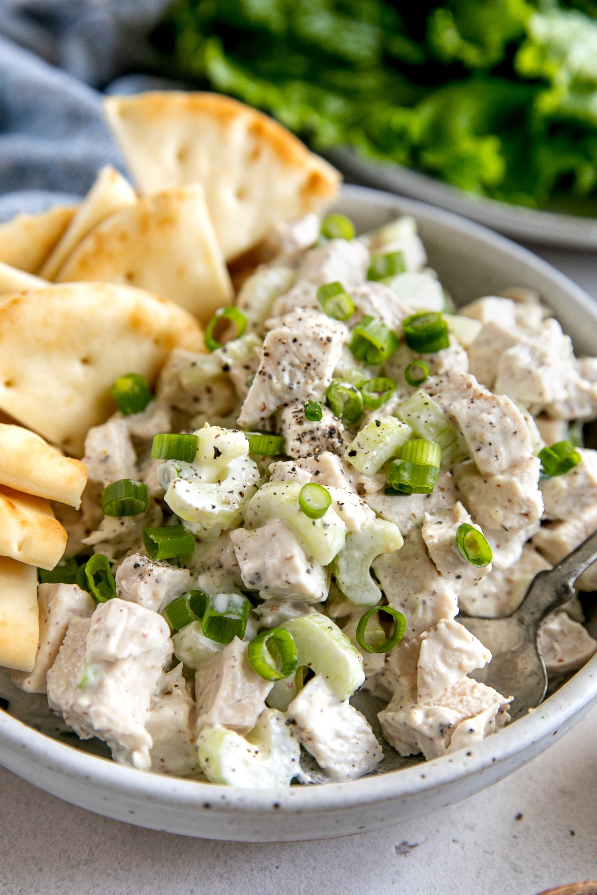 Easy Chicken Salad Recipe - The Forked Spoon