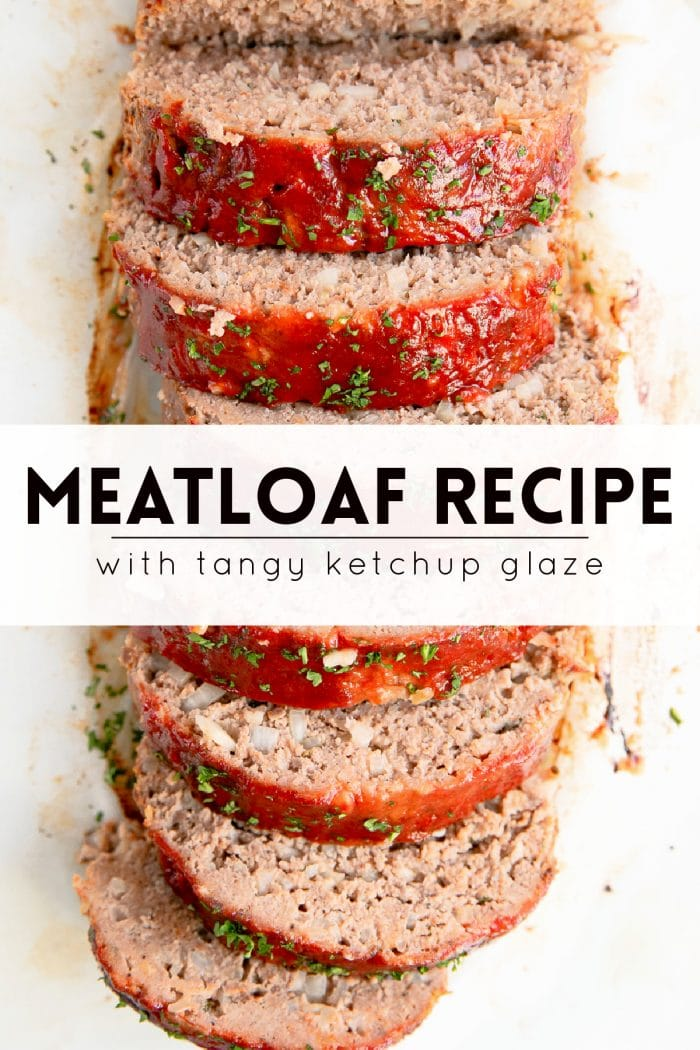 meatloaf recipe pinterest pin image collage