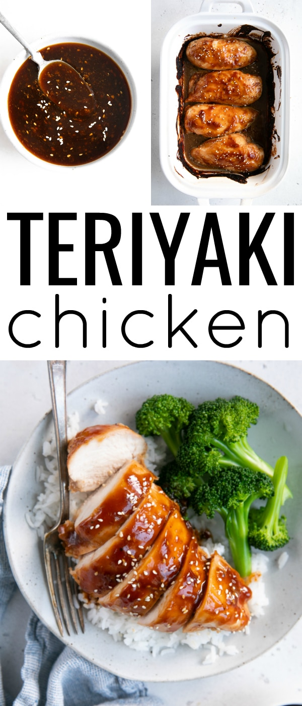 pinterest collage for chicken teriyaki