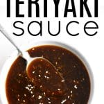 pinterest image for teriyaki sauce