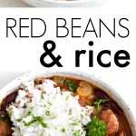 pinterest long pin for red beans and rice