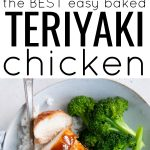 pinterest pin for teriyaki chicken