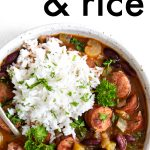 short pin red beans and rice