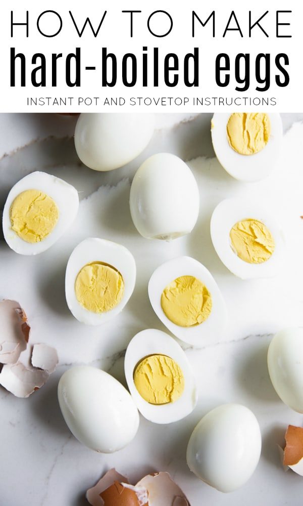 how to make hard boiled eggs long pin