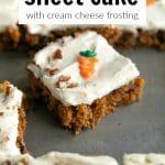 carrot sheet cake short pin