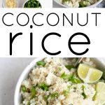coconut rice long pin